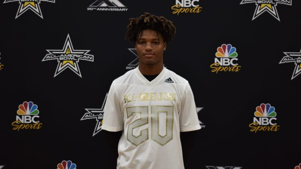 University of Texas commit Xavion Alford Welcomed to 2020 All-American Bowl
