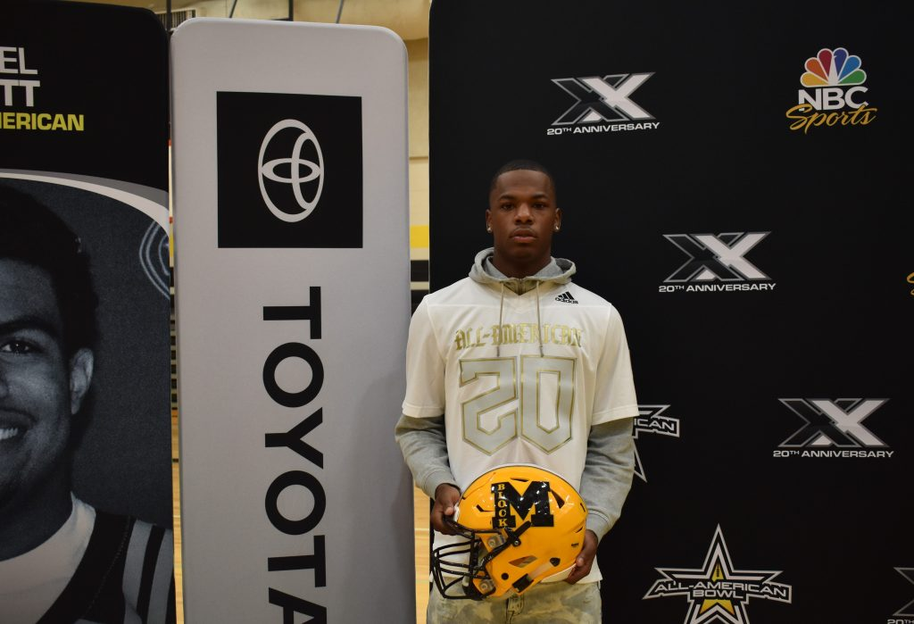 Malik Hornsby (Missouri City, Texas/Fort Bend Marshall High School), the No. 6 dual-threat quarterback in the nation, was officially selected today as a 2020 All-American during a celebratory selection event at his school.