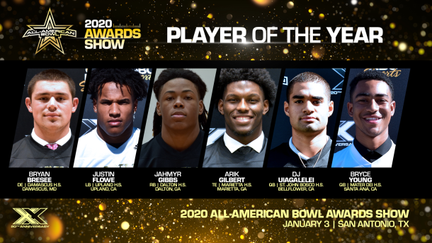 Six of the nation's best seniors make the final list for high school football's biggest individual award