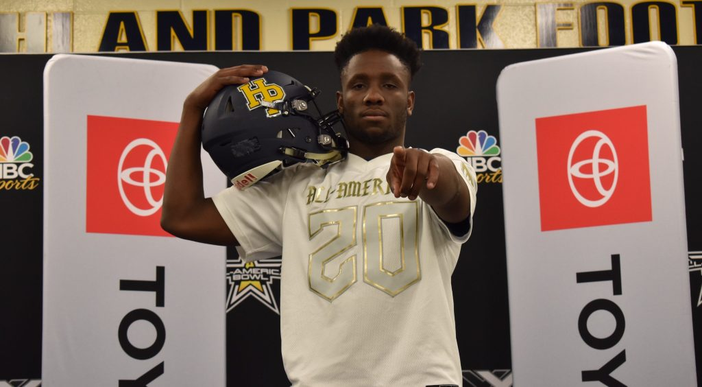 Texas Commit Prince Dorbah welcomed to 2020 All-American Bowl