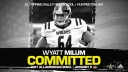 Wyatt Milum (Huntington, WV/ Spring Valley High School), the No.1 prospect from the state of West Virginia, has officially committed to the 2021 All-American Bowl.