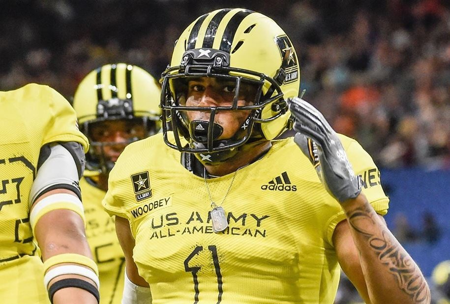 2018 All-American Bowl alum Jaiden Lars-Woodbey.