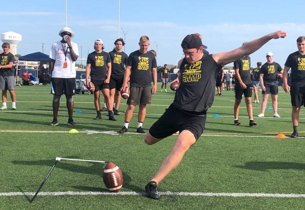 2021 All-American kicker Joe McFadden