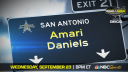 Running Back Amari Daniels (Miami, Florida/Miami Central High School), the three-star prospect, will be officially honored tomorrow as a 2021 All-American during a virtual jersey presentation as part of the second episode of the Road to the Dome digital series.