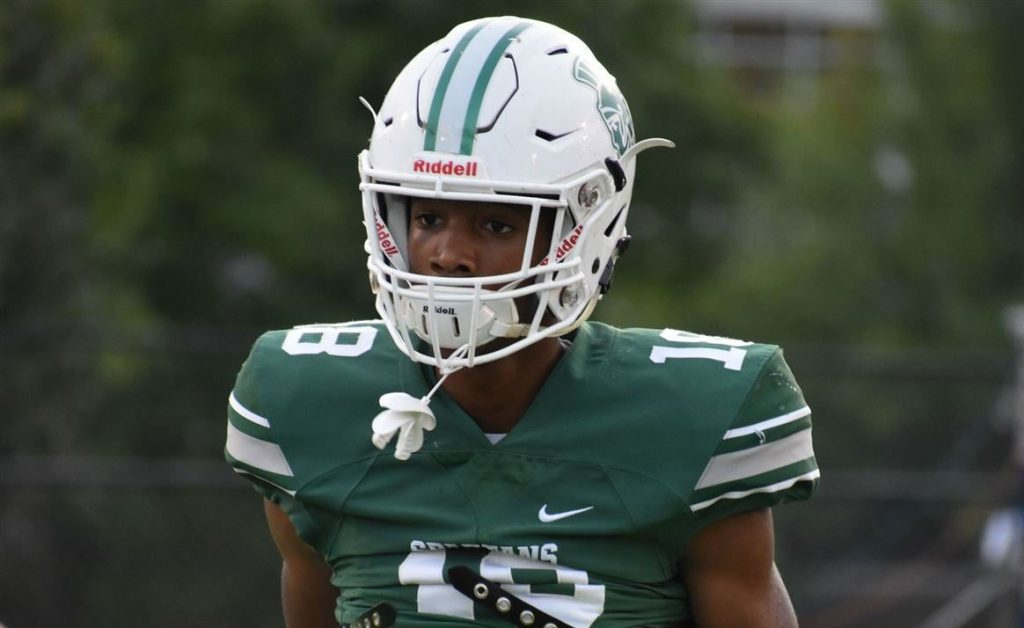2021 All-American Deion Colzie (Athens, GA/ Athens Academy) announced his commitment to University of Notre Dame on Monday afternoon.