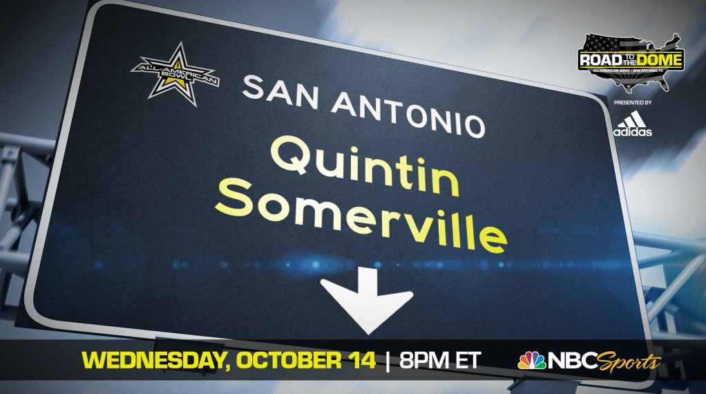 Defensive Lineman Quintin Somerville (Scottsdale, Arizona/Saguaro High School), the University of Michigan commit, will be officially honored tomorrow as a 2021 All-American during a virtual jersey presentation as part of the fifth episode of the Road to the Dome digital series.