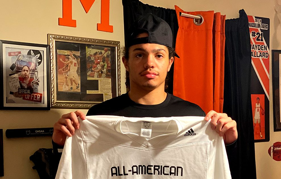 Wide Receiver Jayden Ballard (Massillon, Ohio/Washington High School), the Ohio State University commit, was officially honored today as a 2021 All-American.