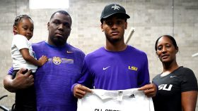 Defensive Back Nathaniel Wiggins (Atlanta, Georgia/Westlake High School), the Louisiana State University commit, was officially honored today as a 2021 All-American