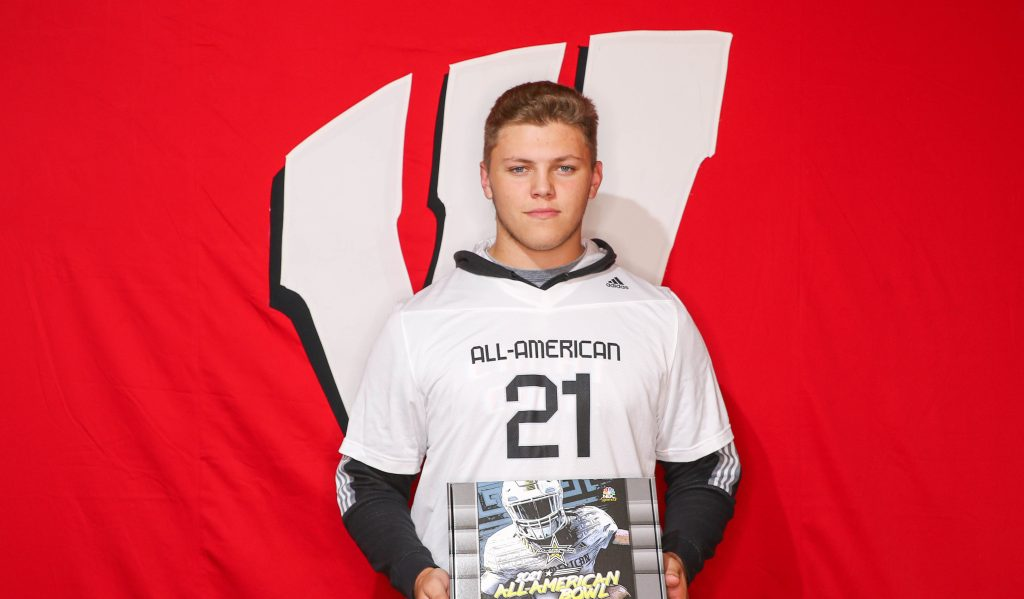Nolan Rucci (Warwick, Pennsylvania/ Warwick Senior H.S.), the University of Wisconsin commit, was officially honored today as a 2021 All-American.