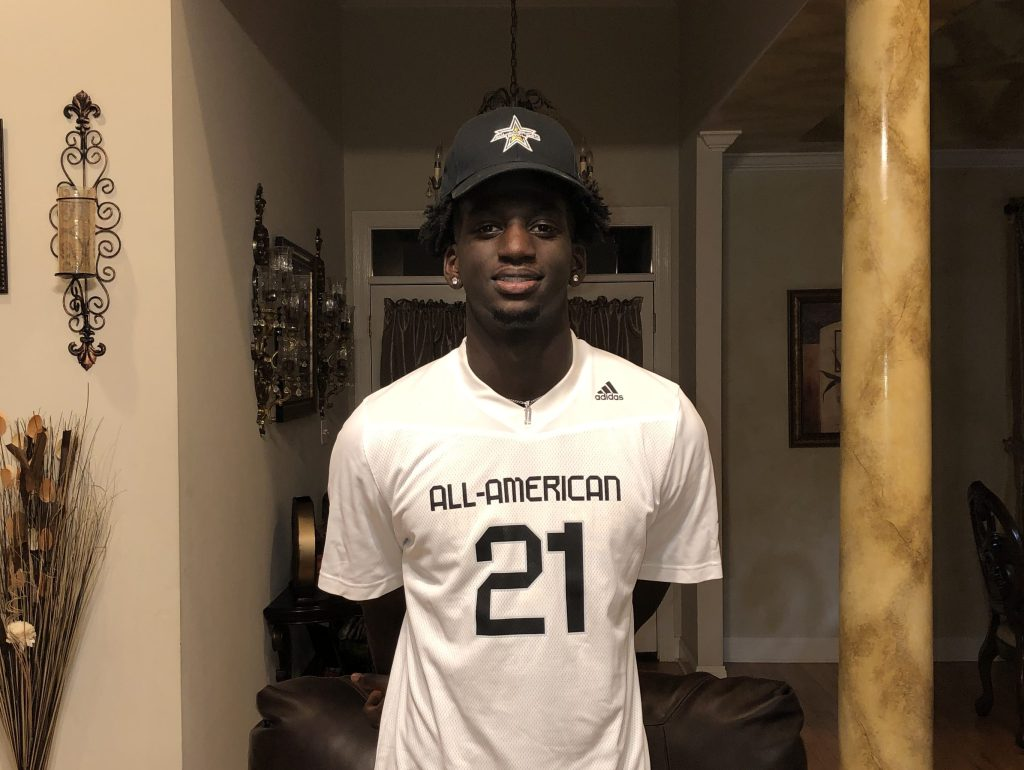 Wide Receiver Brian Thomas Jr. (Walker, Louisiana/ Walker H.S.), the four-star prospect, was officially honored today as a 2021 All-American.