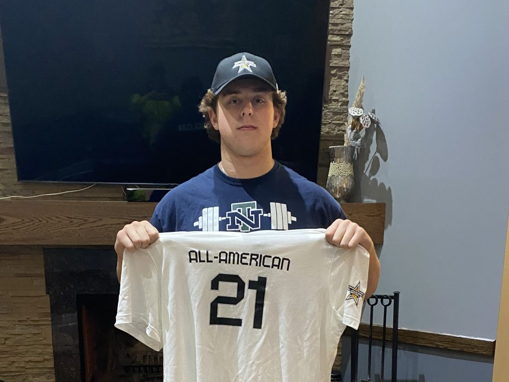 Offensive Lineman David Davidkov (Winnetka, Illinois/ New Trier H.S.), the University of Iowa commit, was officially honored today as a 2021 All-American.