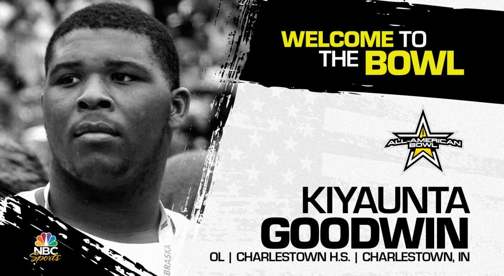 Kiyaunta Goodwin (Charlestown, IN/ Charlestown High School), four-star prospect and one of the top athletes in the nation, has officially committed to the 2022 All-American Bowl.