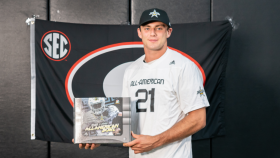 Tight End Brock Bowers (Napa, California/ Napa H.S.), the University of Georgia commit, was officially honored today as a 2021 All-American.