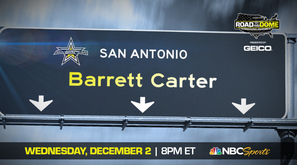 Barrett Carter (Suwanee, Georgia/ North Gwinnett H.S.), the Clemson University commit, will be officially honored tomorrow as a 2021 All-American.