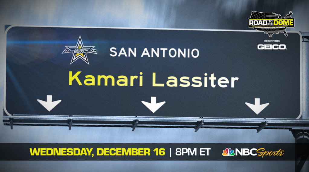 Kamari Lassiter (Tuscaloosa, Alabama / American Christian Academy), the University of Georgia commit, will be officially honored tomorrow as a 2021 All-American.
