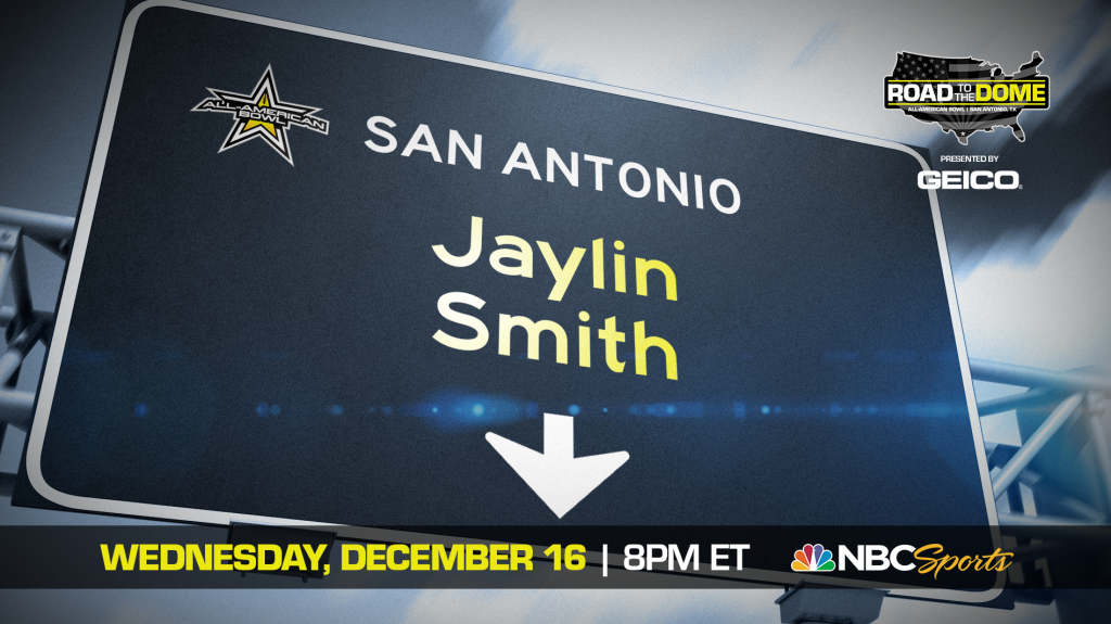 Jaylin Smith (Mission Hills, California/ Bishop Alemany H.S.), the University of Southern California commit, will be officially honored tomorrow as a 2021 All-American.