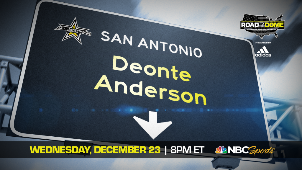 Defensive Lineman Deonte Anderson (Fort Meade, Florida/ Fort Meade H.S.), the four-star prospect, will be officially honored tomorrow as a 2021 All-American.
