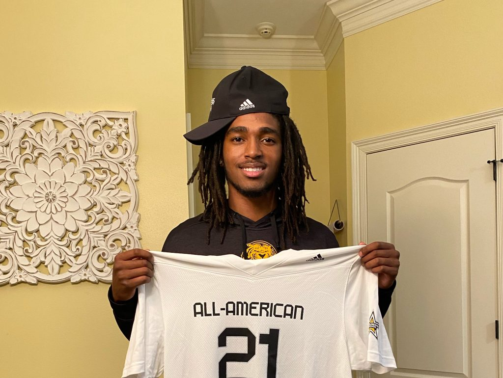 Jardin Gilbert (Baton Rouge, Louisiana/ University Laboratory School), the four-star prospect, was officially honored today as a 2021 All-American.