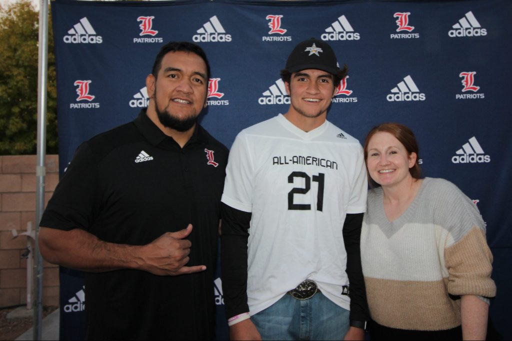 Tight End Moliki Matavao (Henderson, Nevada/ Liberty H.S.), the University of Oregon commit, was officially honored today as a 2021 All-American.