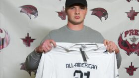 Kyle McCord (Philadelphia, Pennsylvania/ St. Joseph's Preparatory School), the Ohio State University commit, was officially honored yesterday as a 2021 All-American.