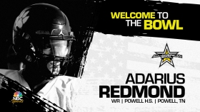 Adarius Redmond (Powell, TN/ Powell High School), four-star prospect and one of the top wide receivers in the country, has officially committed to the 2023 All-American Bowl.