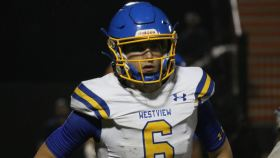 Five-star quarterback Ty Simpson from Westview High School in Tennessee has committed to the University of Alabama.