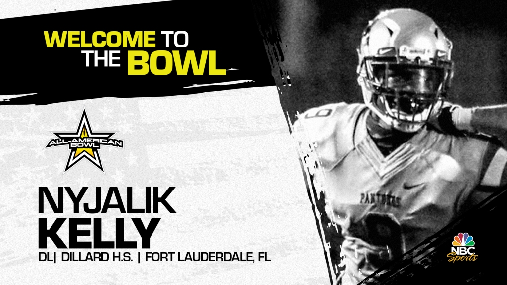 Nyjalik Kelly (Fort Lauderdale, FL/ Dillard High School), the future Florida State Seminole has officially committed to the 2022 All-American Bowl.