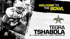 Tegra Tshabola (West Chester, OH/ Lakota West High School), the Ohio State University commit has officially committed to the 2022 All-American Bowl.