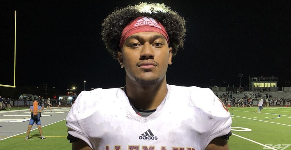 2022 All-American Junior Tuihalamaka from Bishop Alemany High School in Mission Hills, California has verbally committed to the Irish.