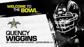 Defensive lineman Quency Wiggins (Baton Rouge, LA/ Madison Prep Academy), the four-star prospect has officially committed to the 2022 All-American Bowl.