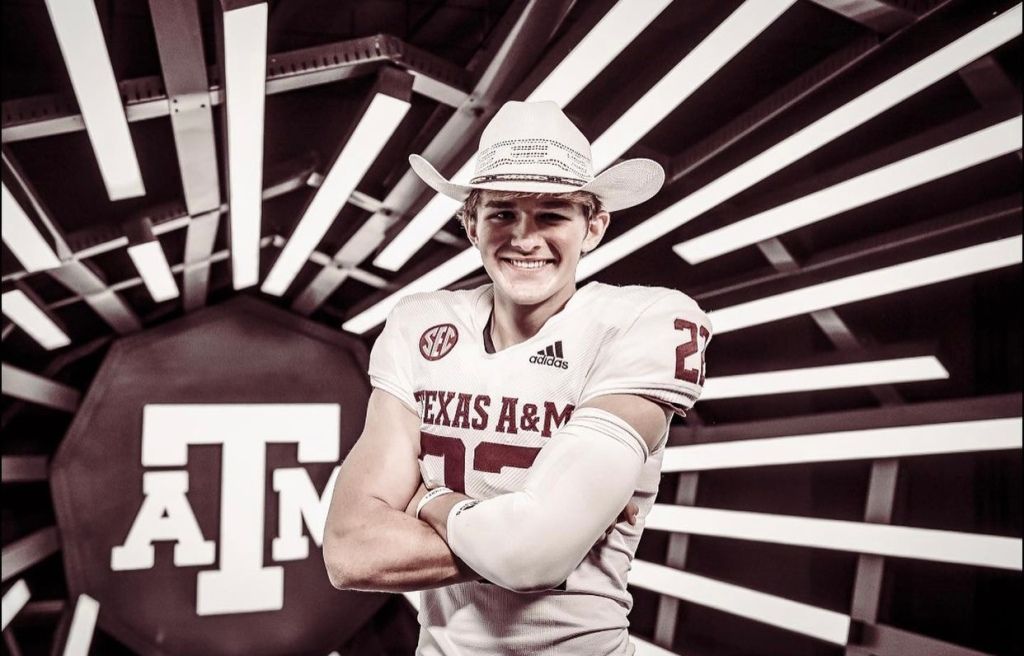 2022 All-American Ethan Moczulski from Mt. Spokane High School in Mead, Washington has verbally committed to Texas A&M University.