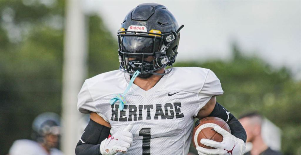 2023 All-American Brandon Inniss from American Heritage High School in Plantation, Florida has verbally committed to the Sooners.