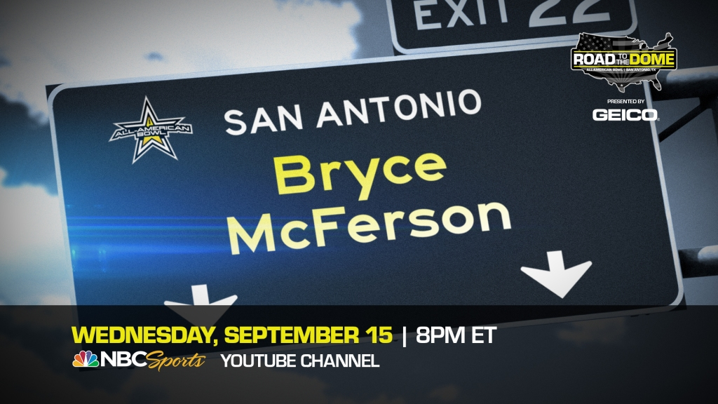 Punter Bryce McFerson, the Wake Forest University commit, will be officially honored tomorrow as a 2022 All-American during a virtual jersey presentation.