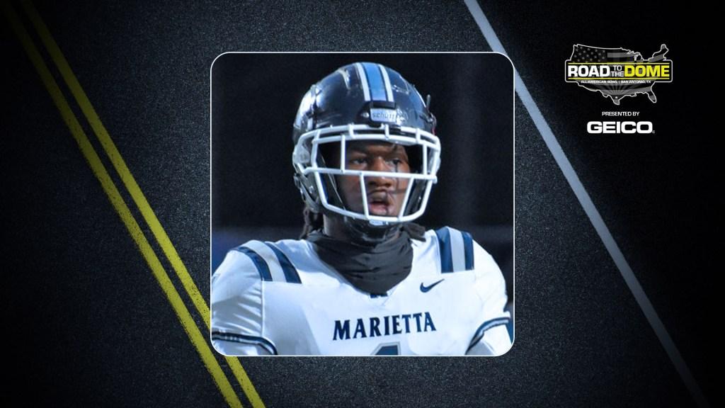 Linebacker Daniel Martin (Marietta, Georgia/Marietta H.S.), the four-star prospect, will be officially honored tomorrow as a 2022 All-American.