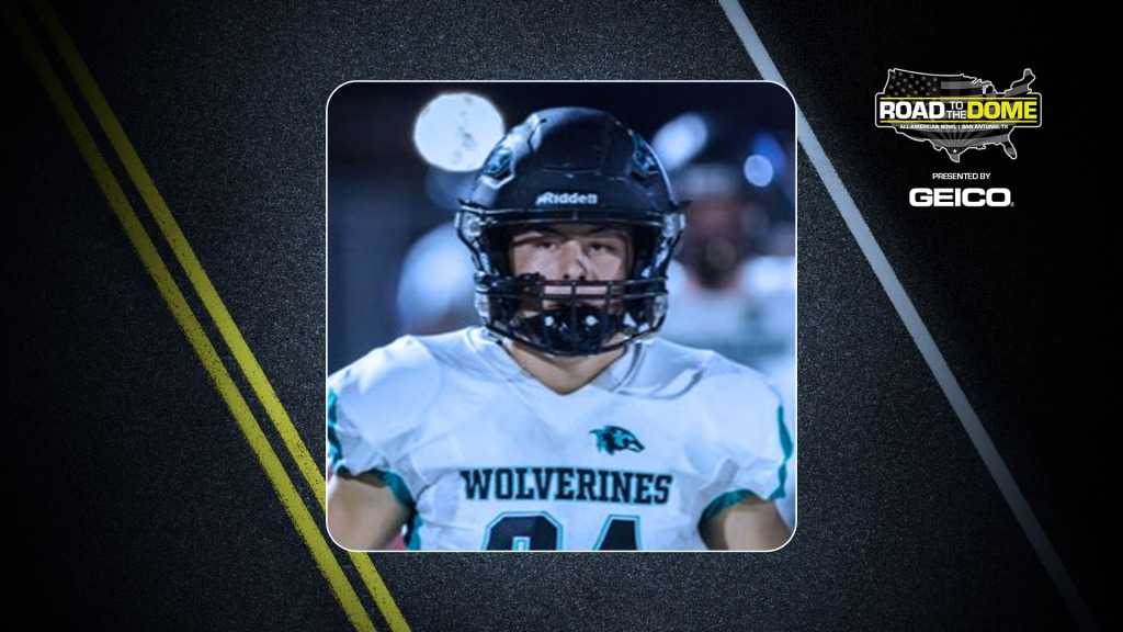 Long snapper Kurt Chesney, the Air Force Academy commit, will be officially honored tomorrow as a 2022 All-American during a virtual jersey presentation.