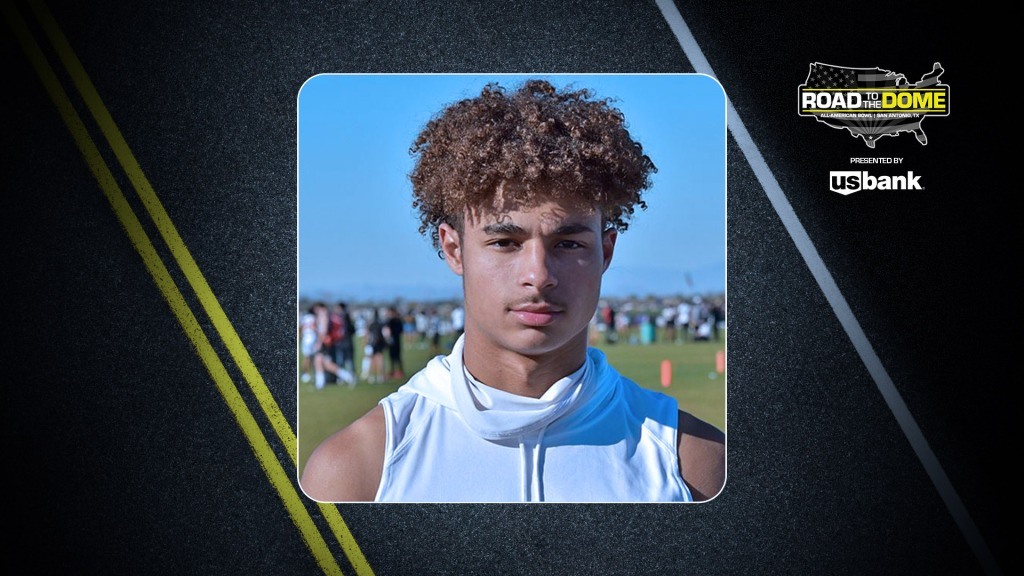 Wide receiver Kyion Grayes (Chandler, Arizona/Chandler H.S.), the Ohio State University commit, will be officially honored tomorrow as a 2022 All-American.