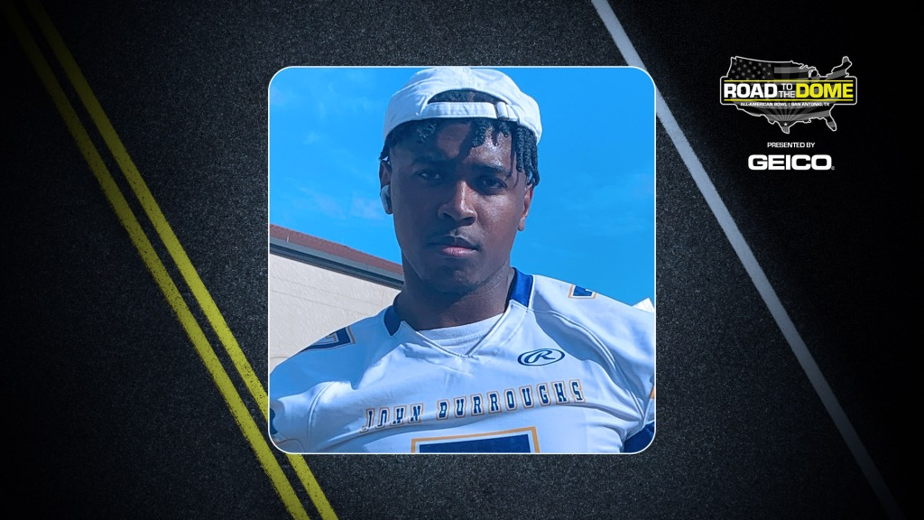 Defensive lineman Tyson Ford, the University of Notre Dame commit, will be officially honored tomorrow as a 2022 All-American.