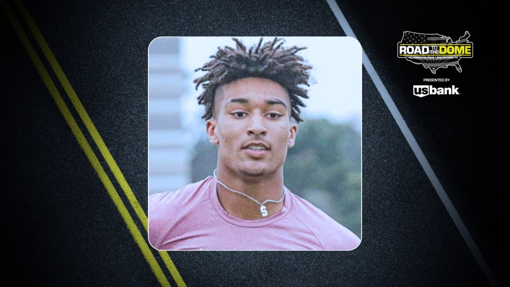 Defensive back Xavier Nwankpa (Altoona, Iowa/Southeast Polk H.S.), the four-star prospect, will be officially honored tomorrow as a 2022 All-American.