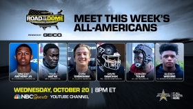 The 2022 All-American Bowl will continue theRoad to the Dometour on Wednesday, October 20 at 8 p.m. ET on the NBC Sports YouTube channel.