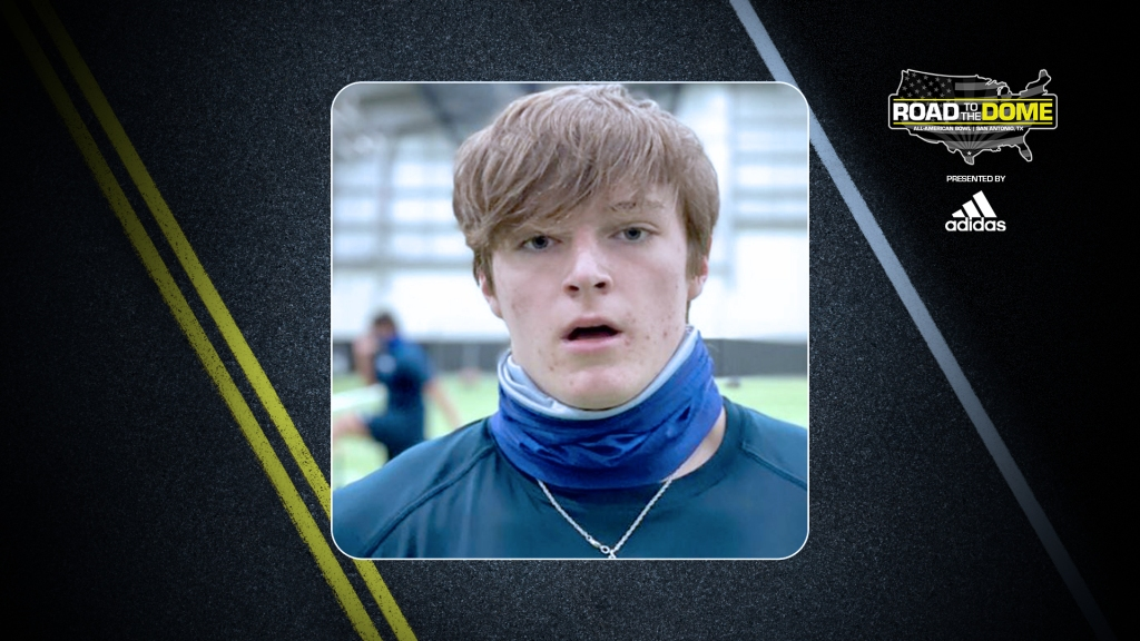 Kicker Blake Ford (Arlington, Texas/ Lamar H.S.), will be officially honored tomorrow as a 2022 All-American during a virtual jersey presentation.