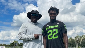 Linebacker DeMario Tolan (Orlando, Florida/ Dr. Phillips H.S.), the Louisiana State University commit, was officially honored as a 2022 All-American.