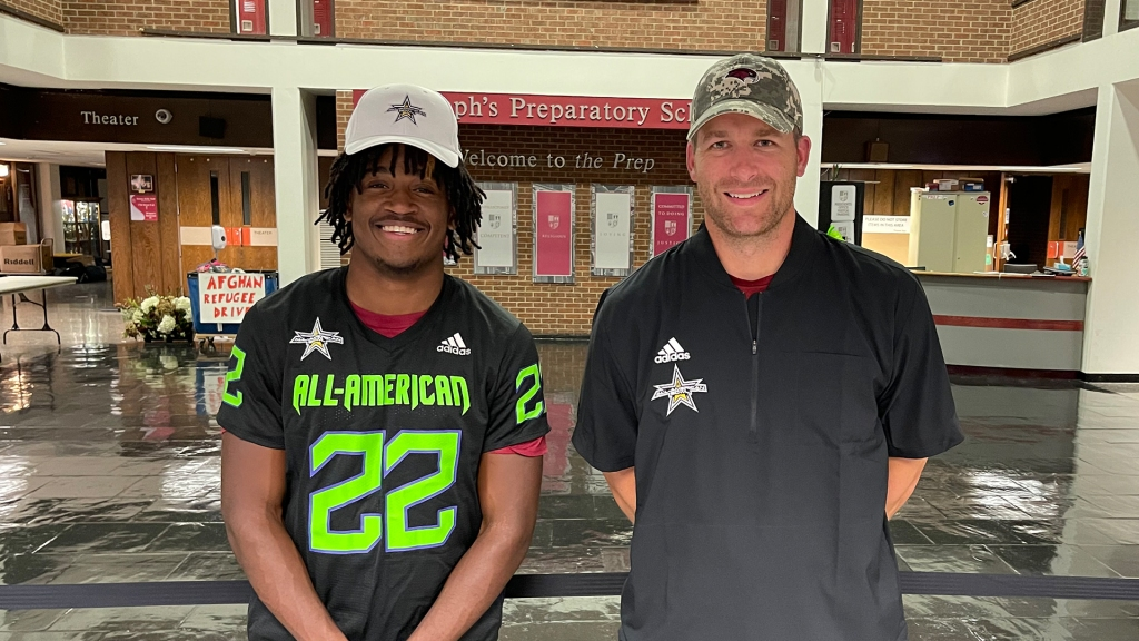 Defensive back Keenan Nelson Jr. (Philadelphia, Pennsylvania/ St. Joseph's Preparatory School), the University of South Carolina commit, was officially honored as a 2022 All-American.