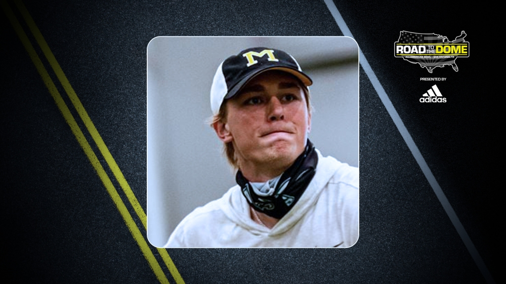 Quarterback Sam Horn (Suwannee, Georgia/ Collins Hill H.S.), the University of Missouri commit, will be officially honored tomorrow as a 2022 All-American.